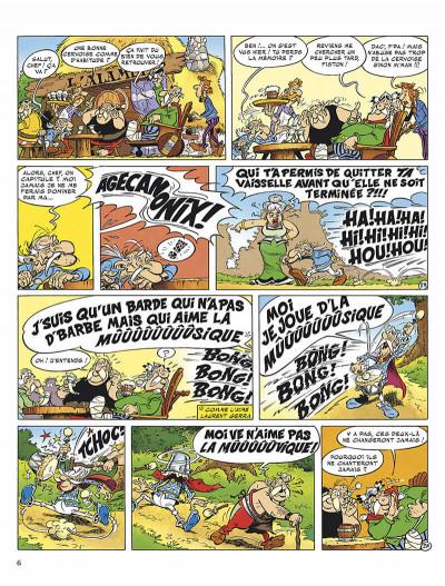 Page 9 astérix tome 34 - l'anniversaire d'astérix et obélix - le livre d'or
