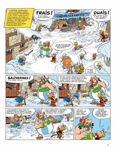 Page 1 Astérix tome 35 - chez les pictes