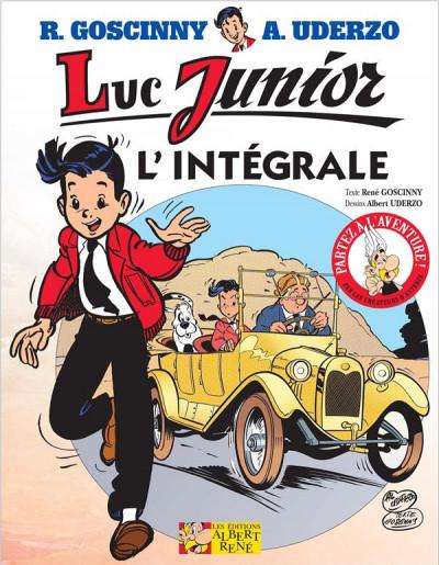 Couverture Luc junior - l'intégrale