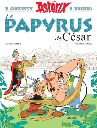 Couverture Astérix tome 36 - Le papyrus de César