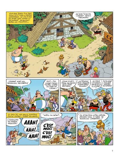Page 1 Astérix tome 36 - Le papyrus de César