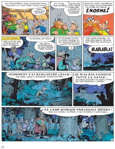 Page 3 Astérix tome 36 - Le papyrus de César