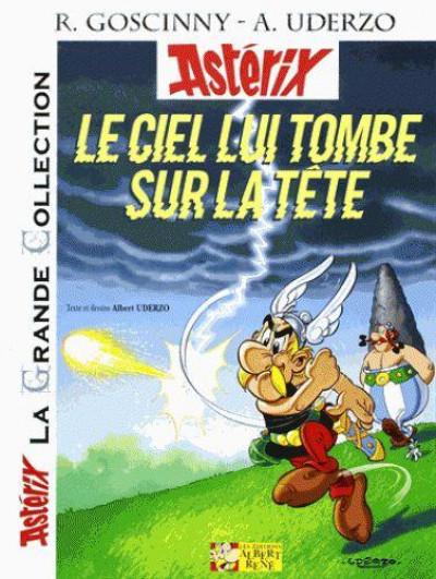 Couverture Astérix tome 33 grande collection - le ciel lui tombe sur la tête