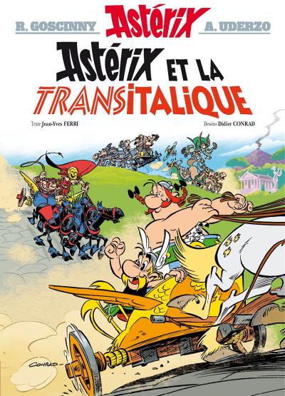 Couverture Astérix tome 37 - Astérix et la Transitalique