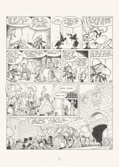 Page 8 Astérix - édition de luxe tome 26 - L'odyssée d'Astérix