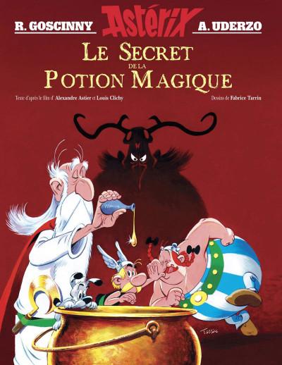Couverture Asterix - Le secret de la potion magique (album illustré)