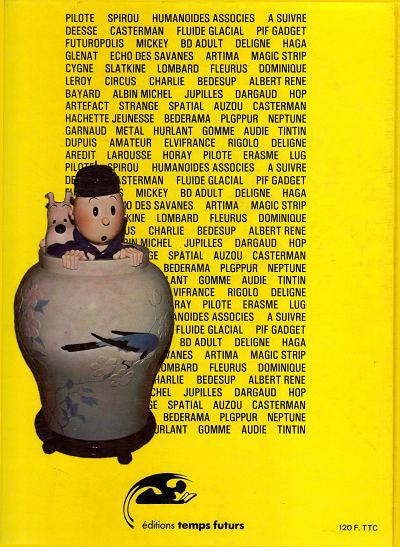 Dos Année de la Bande Dessinée (L') (Temps Futurs) tome 3 - L'année de la Bande Dessinée 83-84 (éd. 1983)