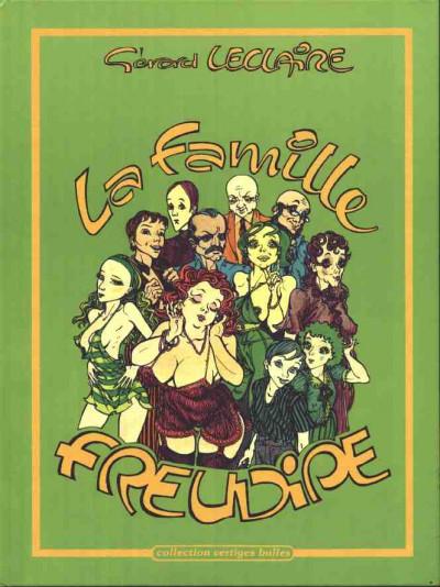 Couverture Famille Freudipe (La) tome 1 - La famille Freudipe (éd. 1982)