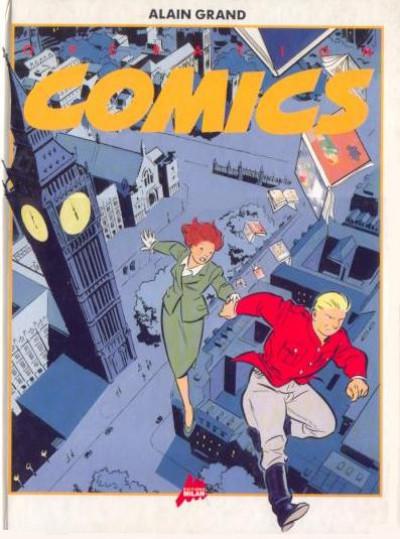 Couverture Opération comics