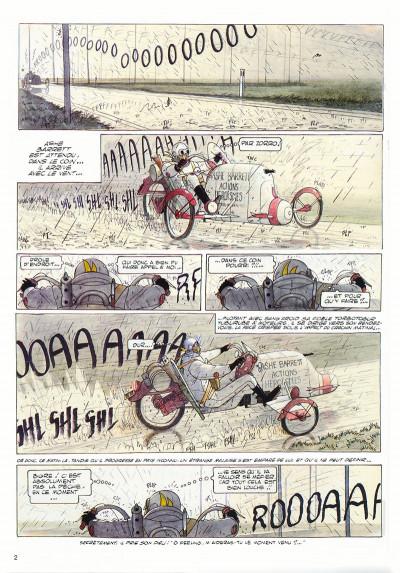 Page 1 Ashe Barrett tome 1 - berdouille et techno