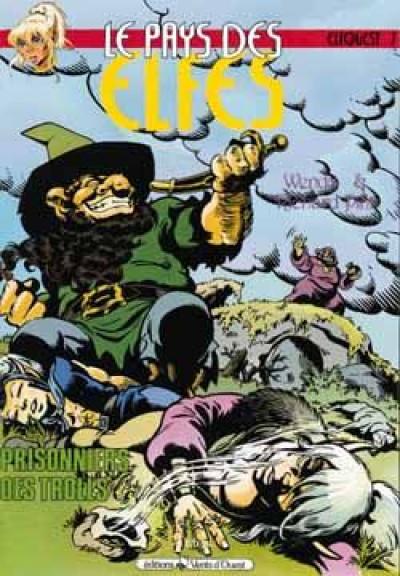Couverture le pays des elfes tome 7 - prisonnier des trolls