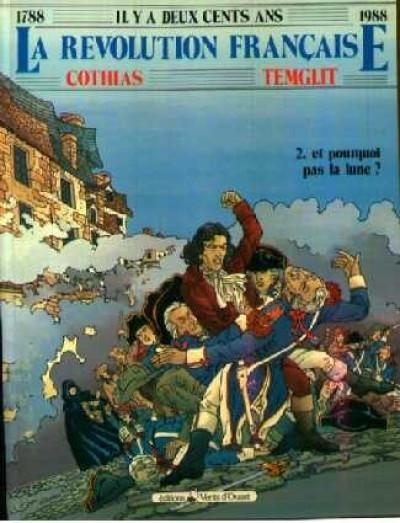 Couverture La révolution française tome 2