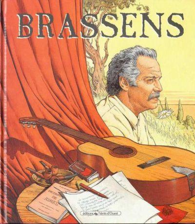 Couverture Brassens tome 1 - 1952-1955