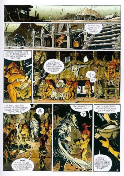 Page 1 Le soleil des loups tome 2 - le creuset de la douleur