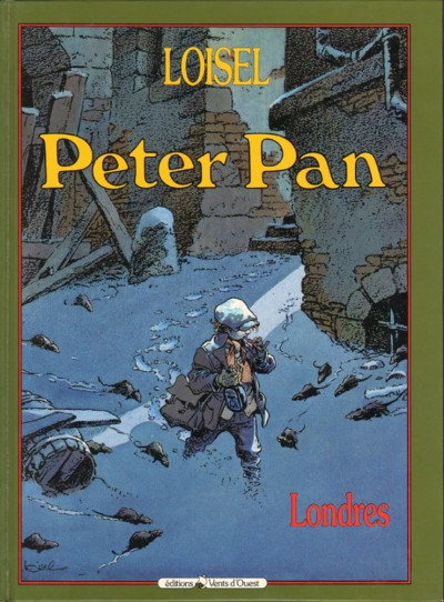 Couverture Peter Pan tome 1