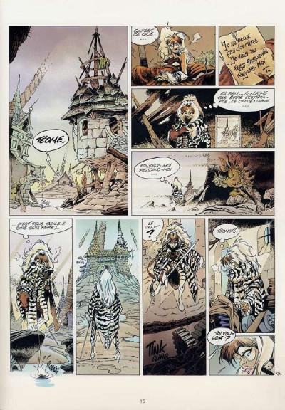 Page 1 L'épée de cristal tome 2 - le regard de wenlok