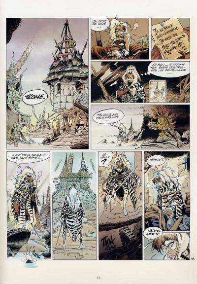 Page 6 L'épée de cristal tome 2 - le regard de wenlok
