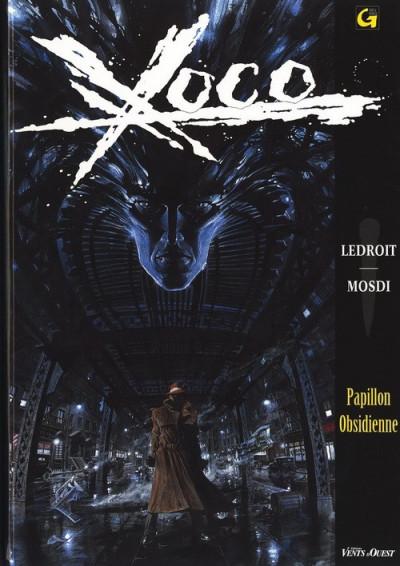 Couverture Xoco tome 1 - papillon obsidienne