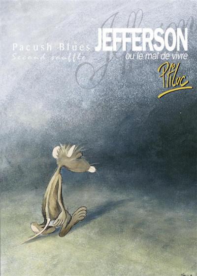 Couverture pacush blues tome 2 - second souffle : jefferson ou mal vivre