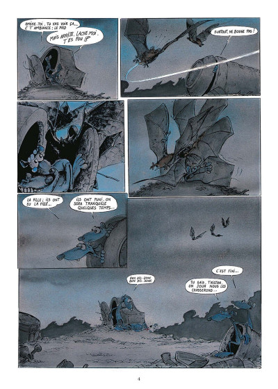 Page 7 pacush blues tome 4 - quatrième dimension : destin farceur crescendo