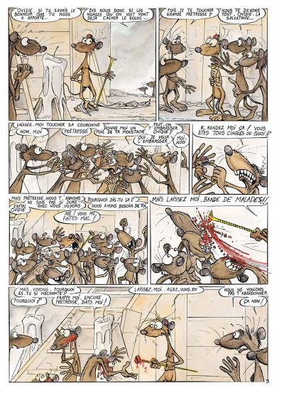 Page 8 pacush blues tome 5 - bidon cinq : destin farceur decrescendo
