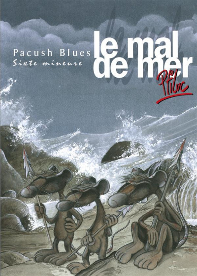 Couverture pacush blues tome 6 - sixte mineure : le mal de mer