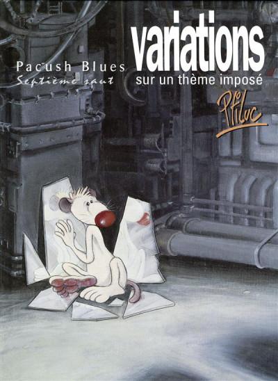 Couverture pacush blues tome 7 - septième saut : variations sur theme