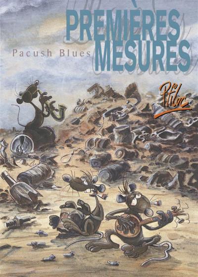 Couverture pacush blues tome 1 - premières mesures