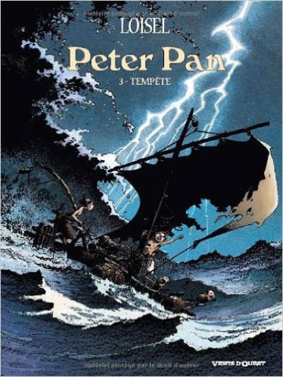 Couverture Peter Pan tome 3 - tempête