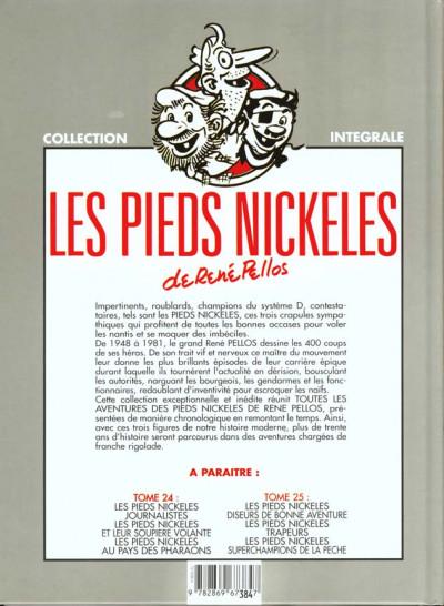 Dos Les pieds nickelés - intégrale tome 23