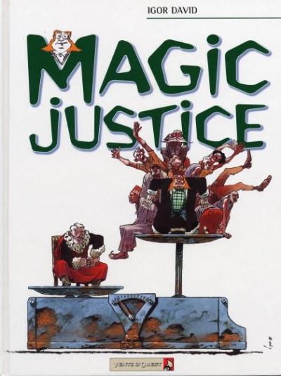 Couverture Magic justice