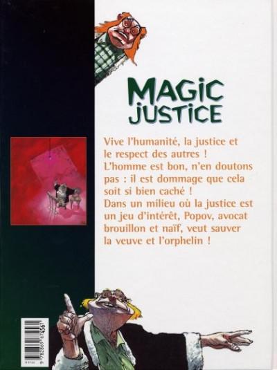 Dos Magic justice