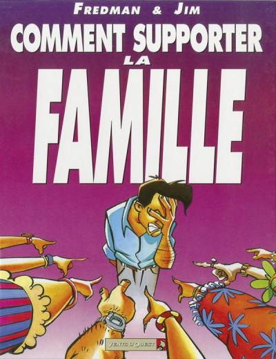 Couverture comment supporter la famille