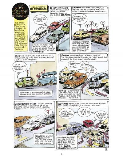 Page 2 les guides en bd tome 2 - le guide du self-control a l'usage des conducteurs