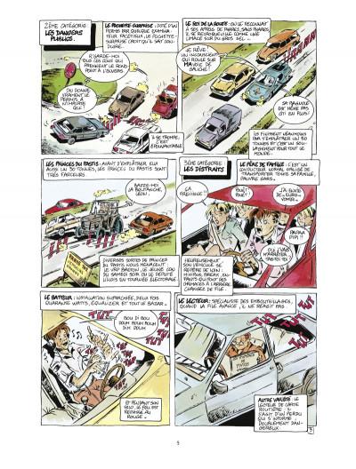 Page 3 les guides en bd tome 2 - le guide du self-control a l'usage des conducteurs