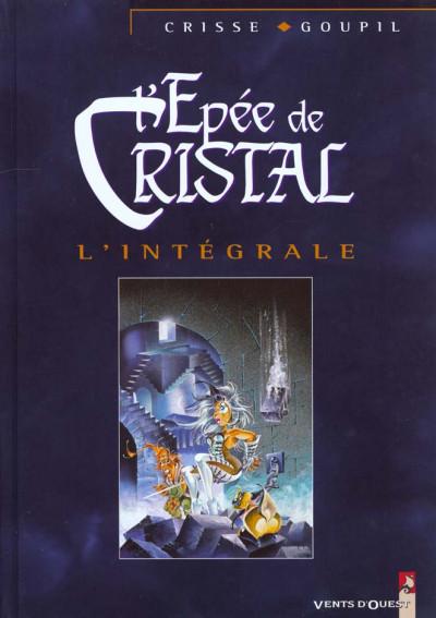 Couverture l'épée de cristal - intégrale tome 1 à tome 5