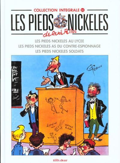 Couverture Les pieds nickelés - intégrale tome 31 - lycée