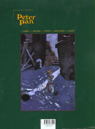 Dos Peter pan tome 5