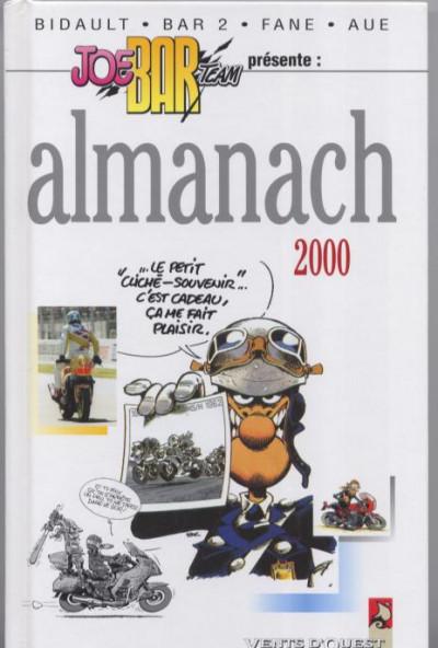 Couverture Almanach Joe bar team 2000