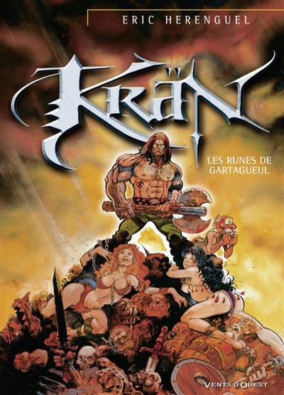 Couverture d'un tome de Krän le barbare
