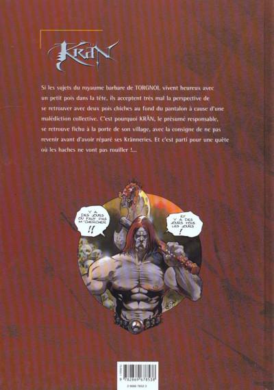 Dos krän le barbare tome 1 - les runes de gartagueul