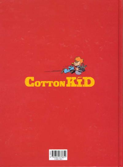 Dos cotton kid tome 1 - au nom de la loi et de monsieur pinkerton