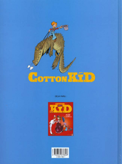 Dos cotton kid tome 2 - charivari dans les bayous