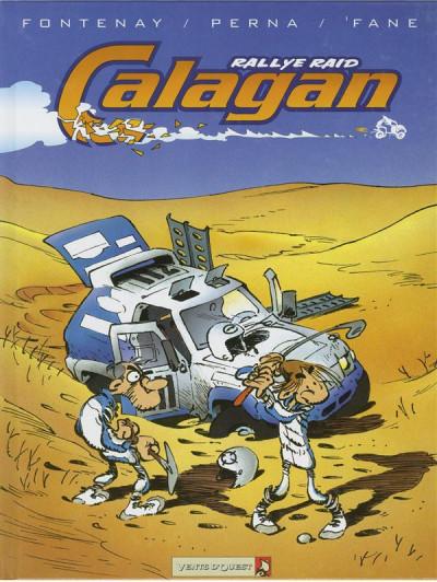 Couverture calagan rallye raid tome 1