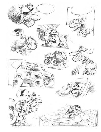Page 1 calagan rallye raid tome 1