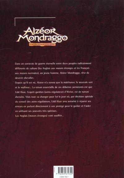 Dos Alzeor mondraggo tome 1 - le premier chevalier astro-regule