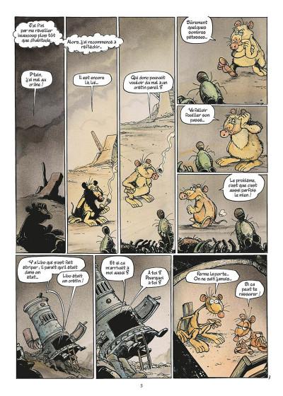 Page 8 pacush blues tome 11 - quelques vérités sur le mensonge