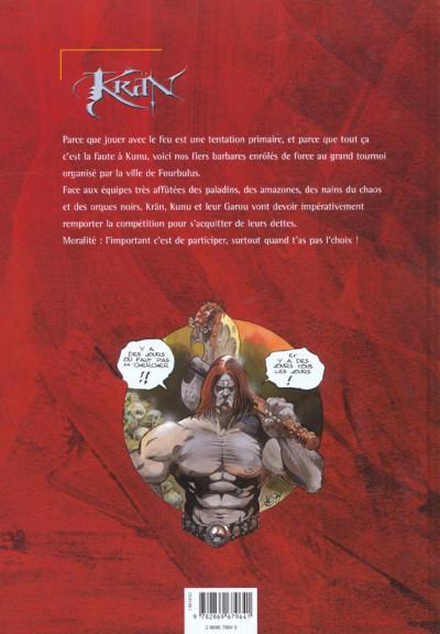 Dos krän le barbare tome 4 - le grand tournoi