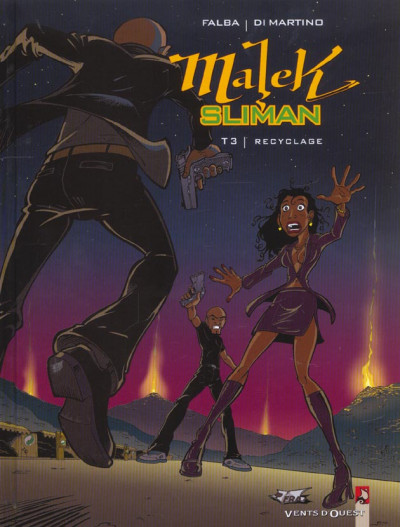 Couverture malek sliman tome 3 - recyclage