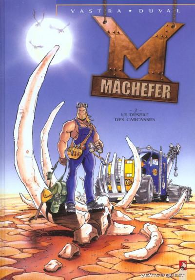 Couverture machefer tome 2 - le désert des carcasses